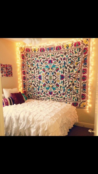 home accessory tapestry home decor girly