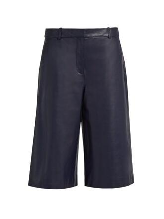 culottes navy pants