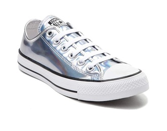 shoes converse metallic iridescent