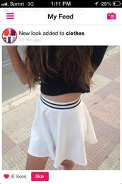 tennis skirt,skirt,tumblr outfit,white,tumblr,skater,skater skirt,hipster,swag,vintage,tumblr girl,sweet
