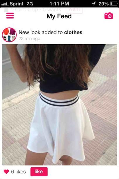 tennis skirt skirt tumblr outfit white tumblr skater skater skirt hipster swag vintage tumblr girl sweet