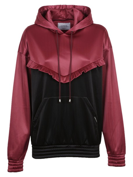 FORTE COUTURE hoodie purple pink sweater