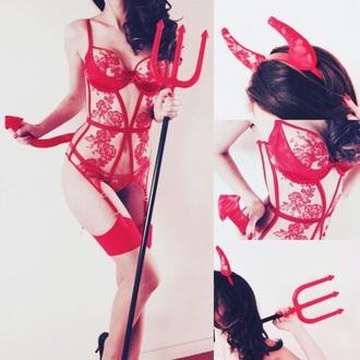 underwear red sexy lace corset bra lingerie lace lingerie