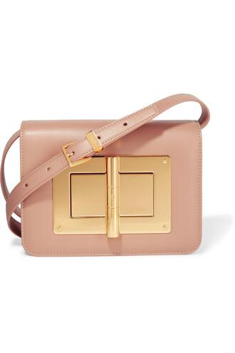 mini bag shoulder bag leather baby pink baby pink