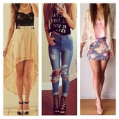jeans,ripped jeans,skinny jeans,sexy jeans,blue pants,black and white,too,top,t-shirt,black top,black t-shirt,classy,print,high heels,heels,sexy heels,black shoes,black high heels,nude heels,nude,nude shoes,sandals,boots,belt,jewels,mini skirt,asymmetrical,yellow skirt,yellow,bustier,black crop top,laced top,laced jacket,white jacket,corset,flowers,floral,skinny skirt,blue skirt,pink top,sun,summer outfits,night,party,laced tops,corset top,crop tops,crop tops embrodering,tights,jacket,bag