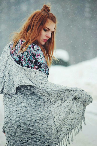 secret garden blogger dress kimono paisley
