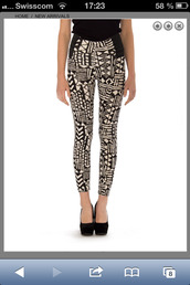 pants,leggings,aztec,tribal pattern