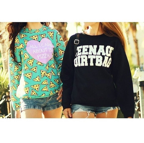 one direction teenage dirtbag black sweater