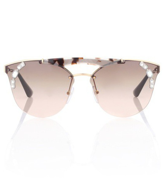 Prada sunglasses aviator sunglasses brown