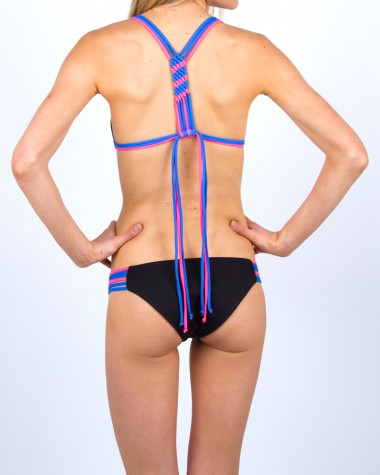 Lisa lozano sporty macrame bikini bottom
