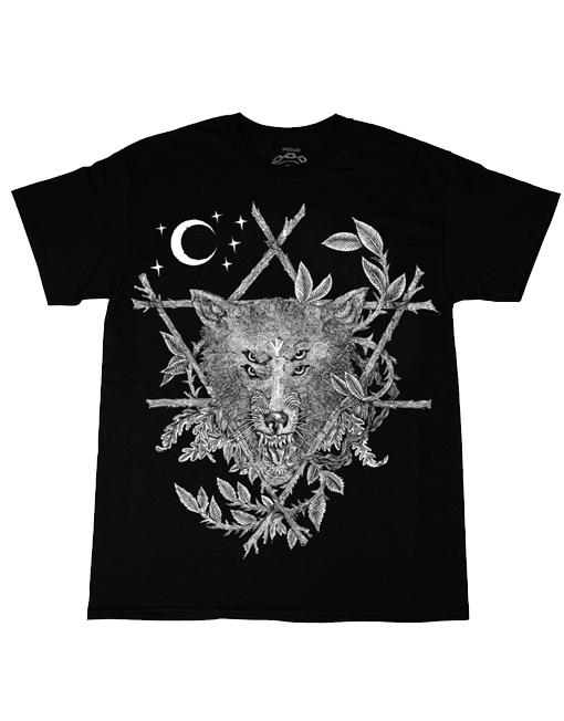 Nine Lives Wolf Eyes t-shirt