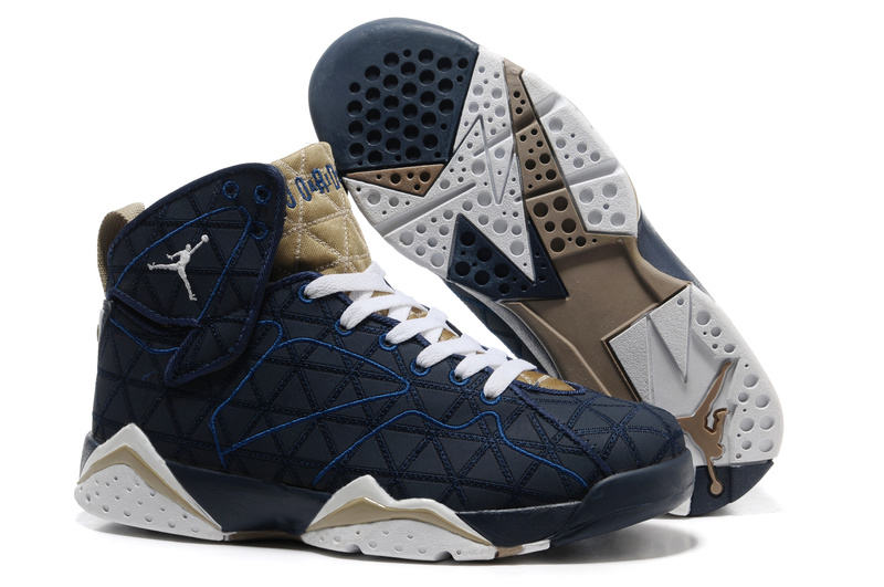 Air jordan 7 new arrivals dark blue brown white,new air jordan 7 new arrivals dark blue brown white hot christmas gifts for men