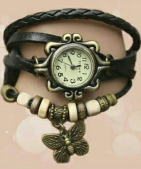 jewels clock brown