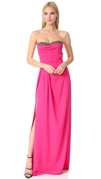 gown strapless dress