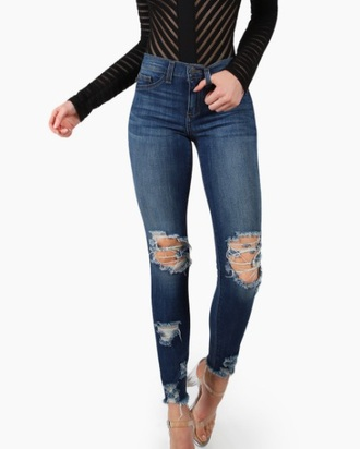 jeans denim ripped jeans ripped distressed denim