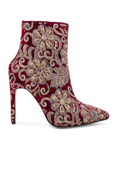 RAYE burgundy shoes