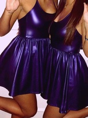 dress,purple dress,violet,party dress,mini dress