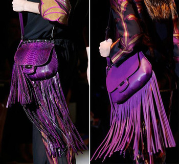 Free shipping new 2014 fashion Fringed leather shoulder bag messenger bag cross body bag-in Crossbody Bags from Luggage & Bags on Aliexpress.com