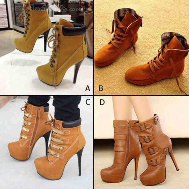 shoes beige
