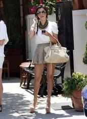 kourtney kardashian,blouse,skirt,top,shorts