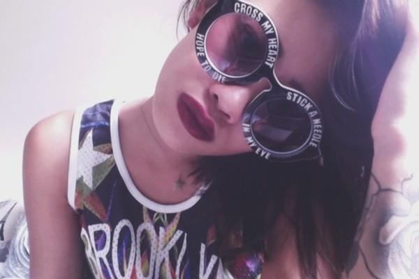 sunglasses black sunglasses cross my heart