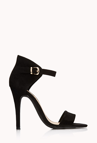 Night Moves Stiletto Sandals | FOREVER21 - 2000110735