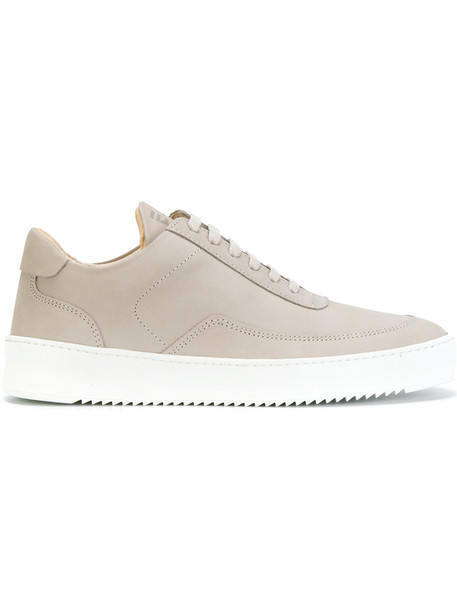 Filling Pieces women sneakers lace leather nude shoes