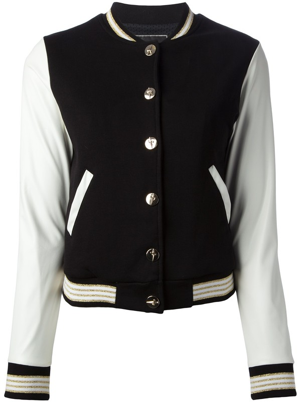 jacket paciotti for us bi-colour varsity jacket