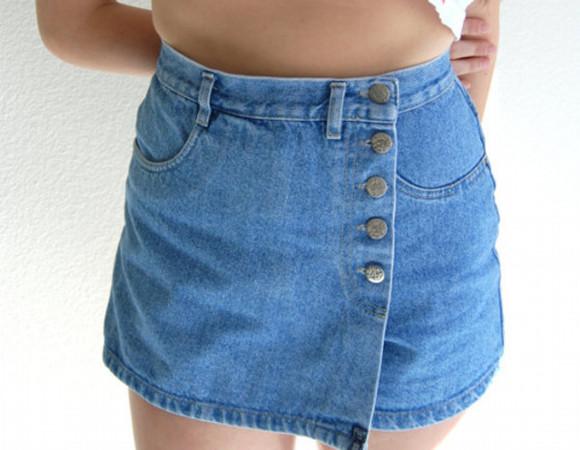 denim denim skirt buttons wrap around