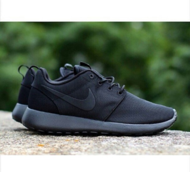 7fc081271b68 shoes nike roshe run nike roshe run shoes nike adidas jordan brand black  nike shoes nike