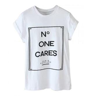 t-shirt shirt white paris print letter t-shirts cool women outfit spring summer basic top
