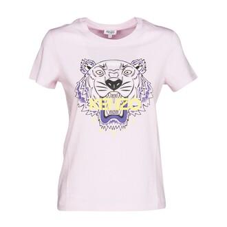 t-shirt shirt tiger flamingo pink top