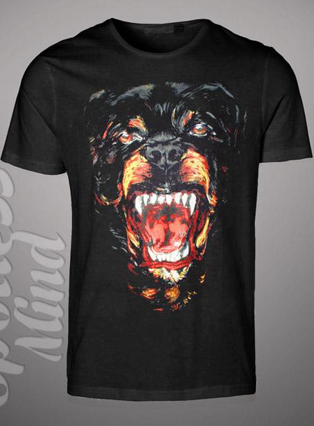 New rottweiler face tshirt t shirts kanye west tee dog for Custom dog face t shirt