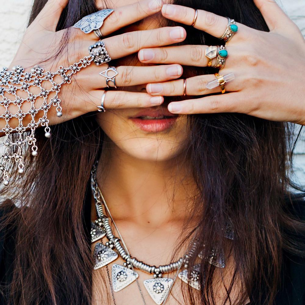 Visionary arrowhead necklace