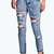Sara Relaxed Fit Open Leg Zip Boyfriend Jeans