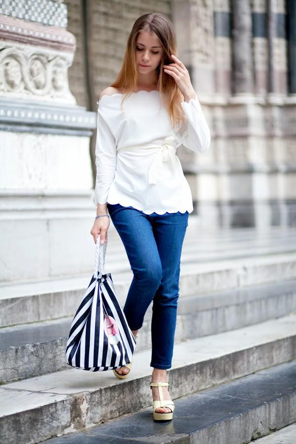 acid coke blouse jeans shoes bag