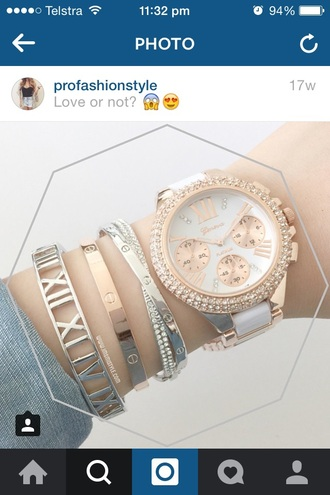 jewels jewelry bracelets stacked bracelets arm candy silver gold rose gold