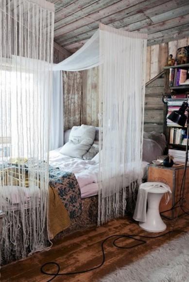 boho scarf bedding fringes curtain
