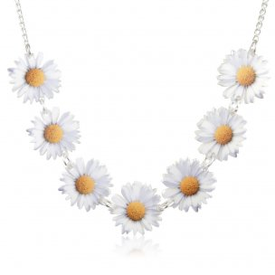Daisy Chain Necklace   Flower Jewellery   Kitsch Necklaces