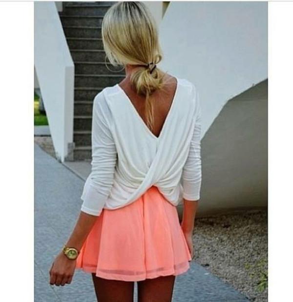 shirt blouse long sleeves white long sleeve shirt twisted back gorgeous long sleeve blouse