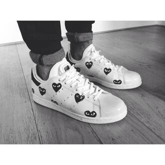 shoes adidas adidas shoes heart swag originals adidas originals stan smith stan smiths comme des garcons comme des garcons play cool