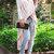 Women's V-Neck Long Sleeve Asymmetrical Dip Hem T-Shirt Cardigan
