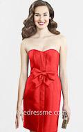 Strapless red cocktail dresses by kirribilla at edressme