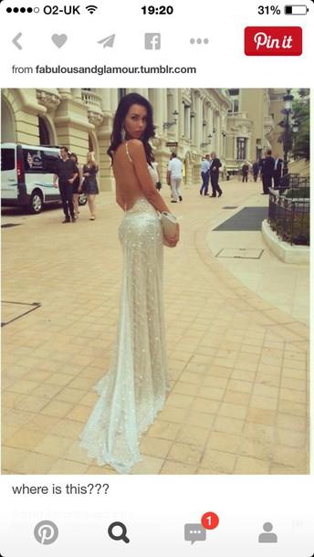 dress prom dress sparkly dress glittery dress