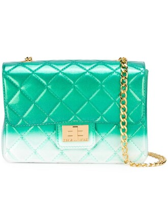 quilted bag shoulder bag green