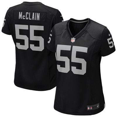 Nike Rolando McClain Oakland Raiders Women's Game Jersey - Black