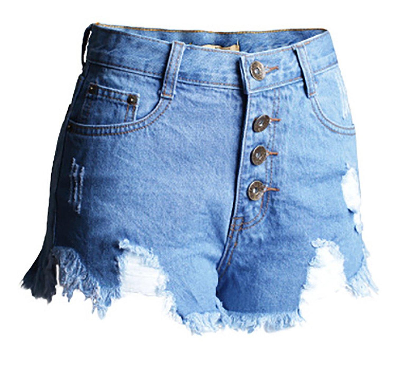 Как сделать из старых джинс модные шорты с завышенной талией