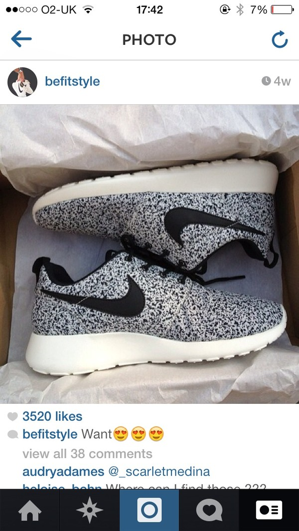 shoes roshe run nike limited edition pretty perfect