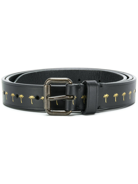 Tomas Maier women belt leather black
