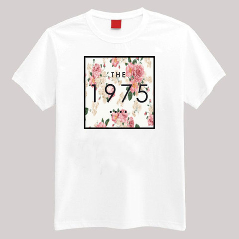 The 1975 Floral T Shirt